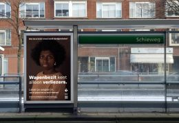 Postercampagne van de Rotterdamse politie