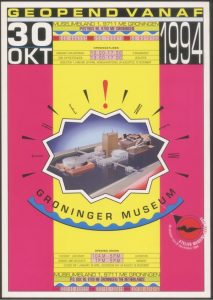 Groninger Museum door Swip Stolk